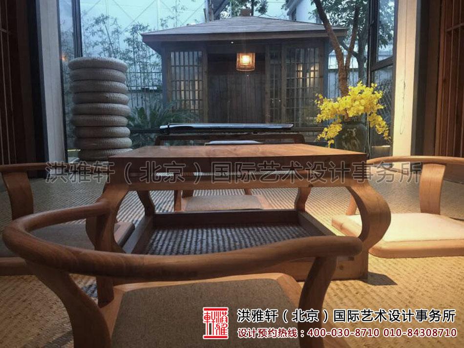 民宿客栈装修设计之休闲饮茶区