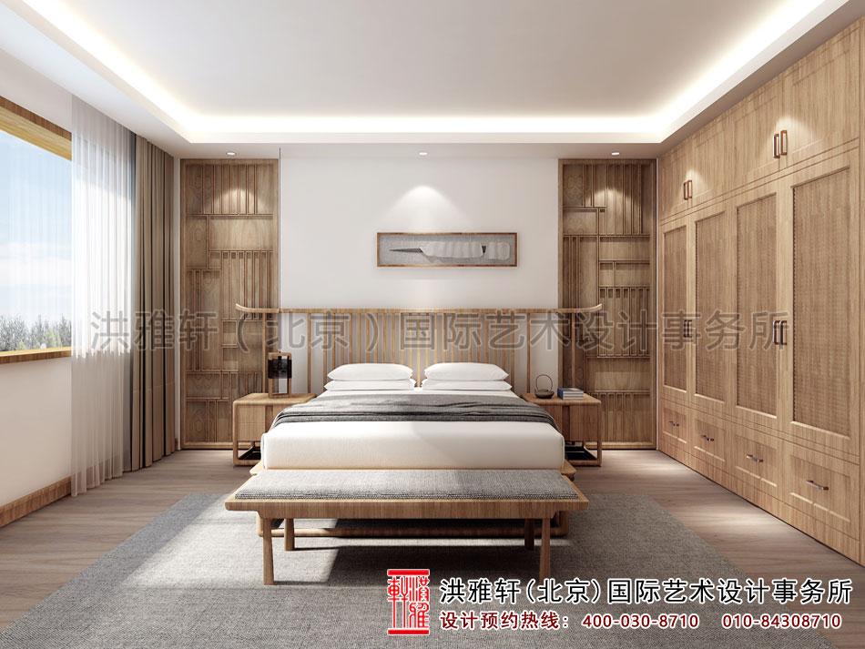 禅意别墅中式装修客房装修效果图