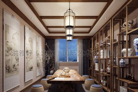 茶楼装修简单中式怎么做,简单中式茶楼装修需要多少钱?