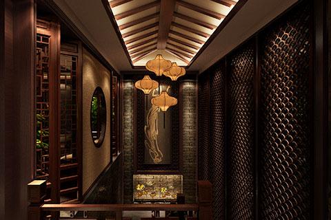上海古典会所装修设计,奢华大气挑战现代审美