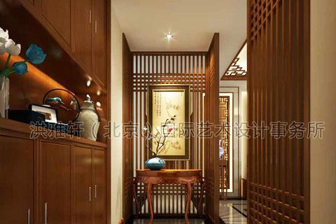 家庭中式装修门厅的风水学,门厅装修过道装修风水禁忌