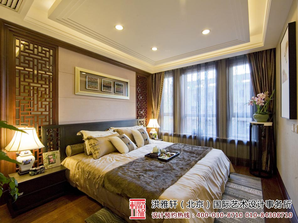 卧室中式装修图3