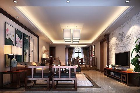 客厅装修图,客厅中式装修图片,客厅中式装修效果图