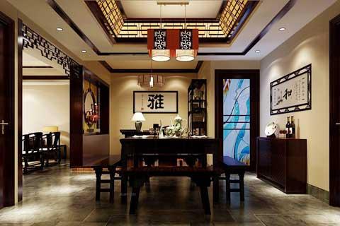 中式餐厅设计及实景图片赏析(三)