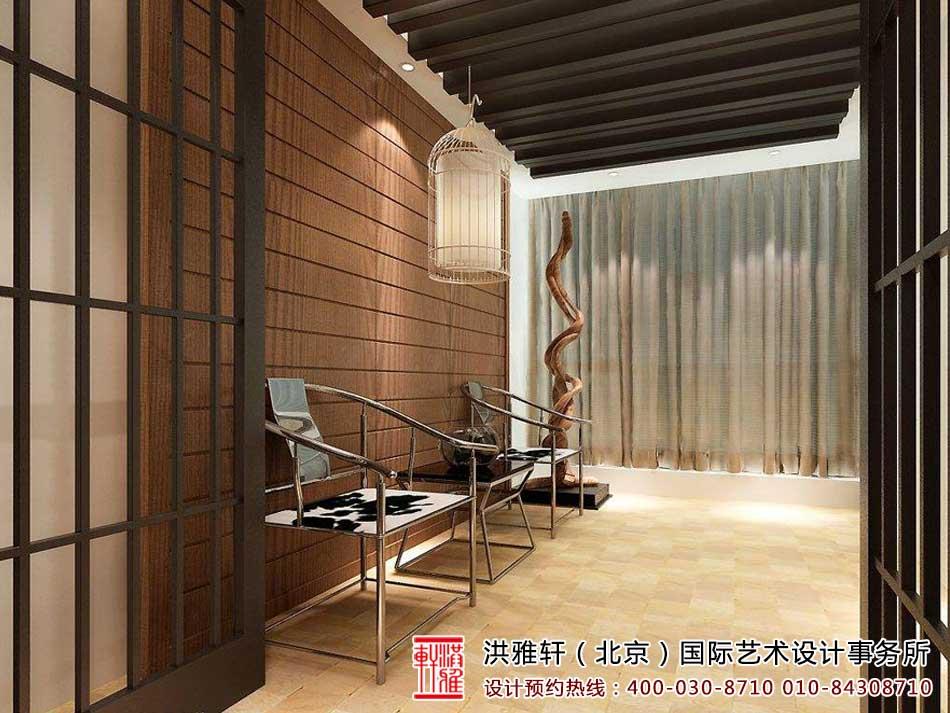 各类大气别致茶室中式装修效果图欣赏(三)
