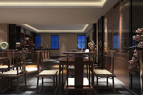 古典茶楼装修 如何打造绿色健康的古典中式茶楼装修?