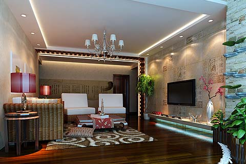 客厅装修图片,最新客厅装修效果图,客厅中式装修图