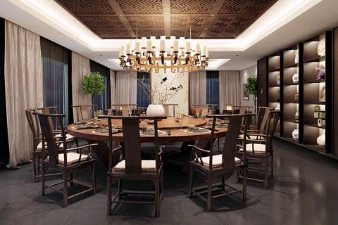 浙江嘉兴禅修私人会所新中式风格,禅意玄境和精致的气质