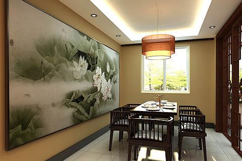 中式餐厅装修图片,中式餐厅效果图,餐厅装修组图