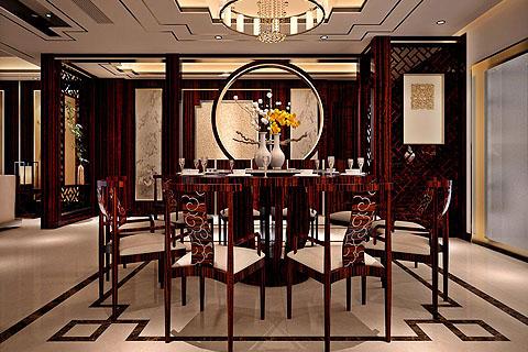 餐厅装修图,餐厅中式装修组图(一)