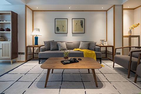 客厅中式装修图-客厅装修图片-最新客厅中式装修图(一)