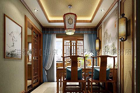 红木家具如何搭配 中式装修室内红木家具配什么颜色窗帘?