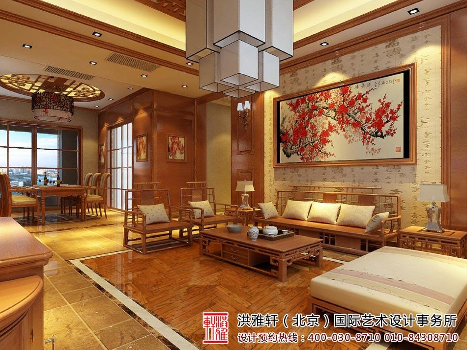 中式客厅装修图2