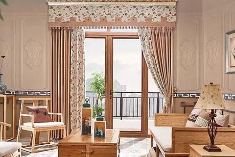 中式配饰|中式风格窗帘,中式传统的艺术气息