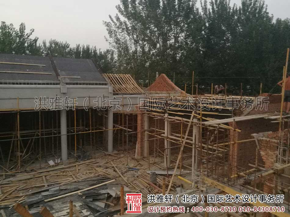 北京大兴老房改造四合院自建施工现场2.jpg