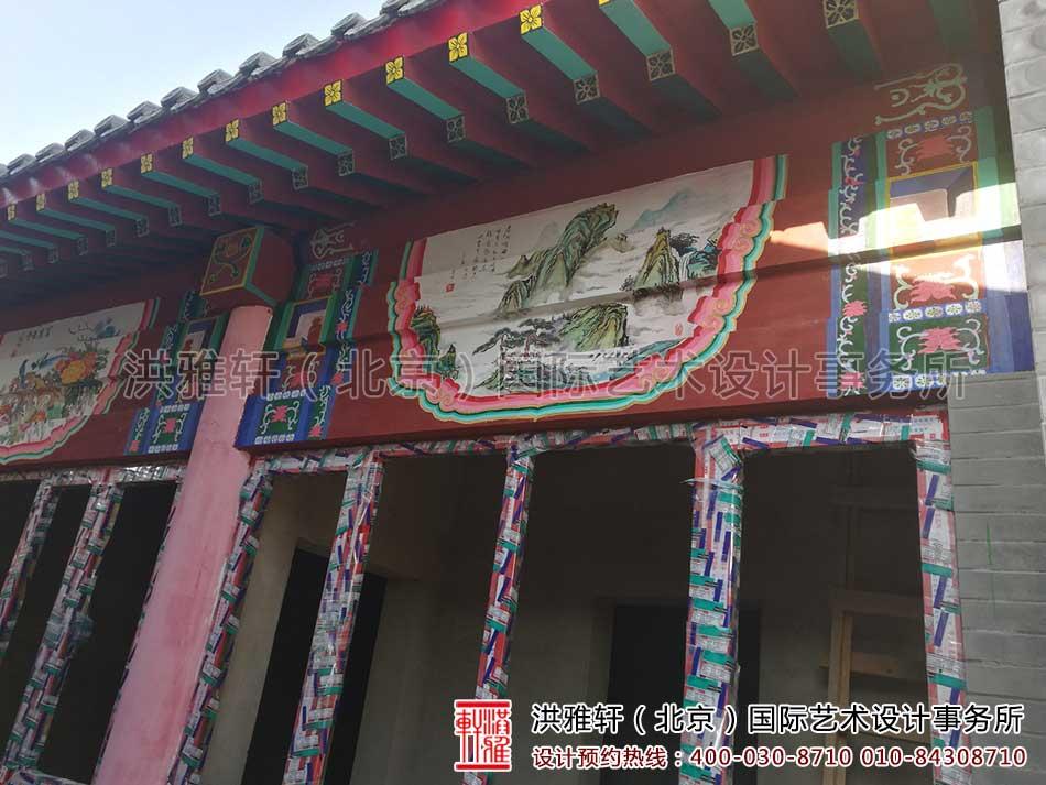 北京大兴老房改造四合院自建施工现场8.jpg