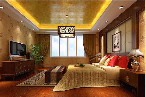 别墅中式装修图 中式风格别墅设计效果图聚合赏析(九)
