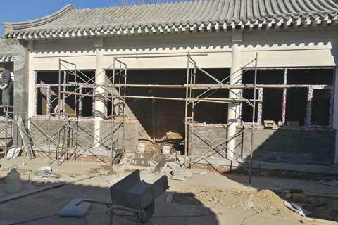北京大兴自建四合院案例之整体外观初览