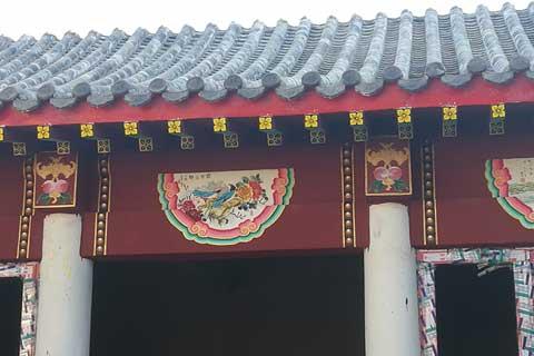 北京大兴自建四合院案例之外墙彩绘(一)