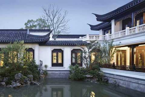 【别墅庭院设计】中式别墅庭院设计,别墅庭院设计平面图