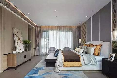 卧室新中式装修,中式传统文化与现代元素的邂逅之美