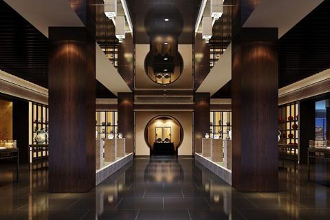 中式陈列展厅图片 整体彰显典雅大气