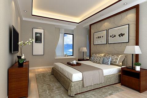 卧室中式装修效果图合集,卧室装修效果图组图