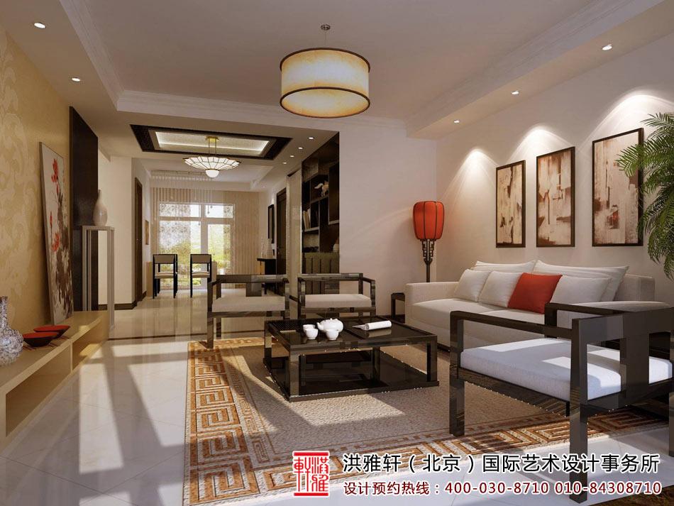 新中式客厅装修图1