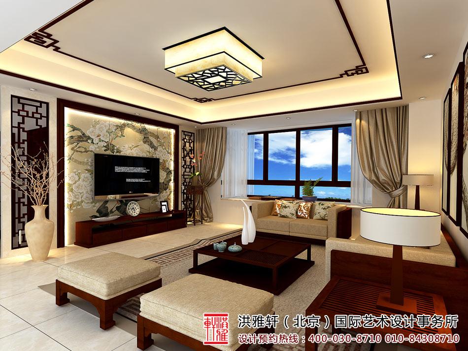 新中式客厅装修图4