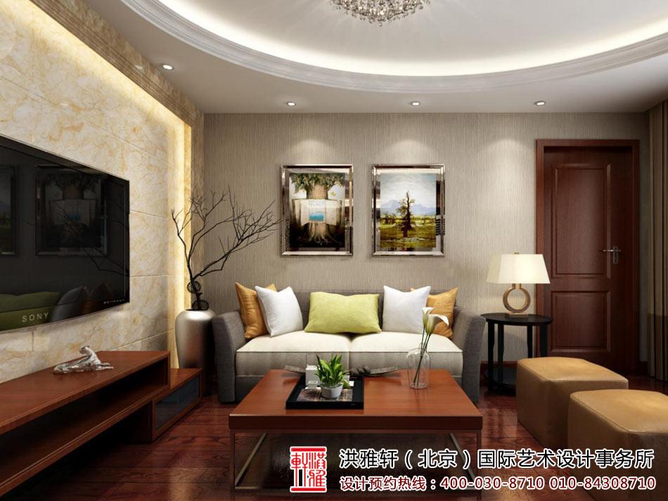 新中式客厅装修图5