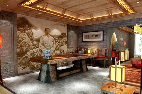 茶楼装修图片合集,展示中式茶楼装修不同魅力