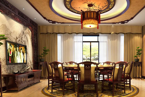 别墅中式装修融入现代元素怎么设计,古典和现代激情碰撞