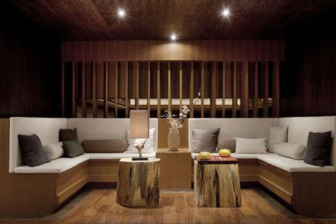 品茶悟禅 东方禅意茶会所中式风格效果图案例欣赏