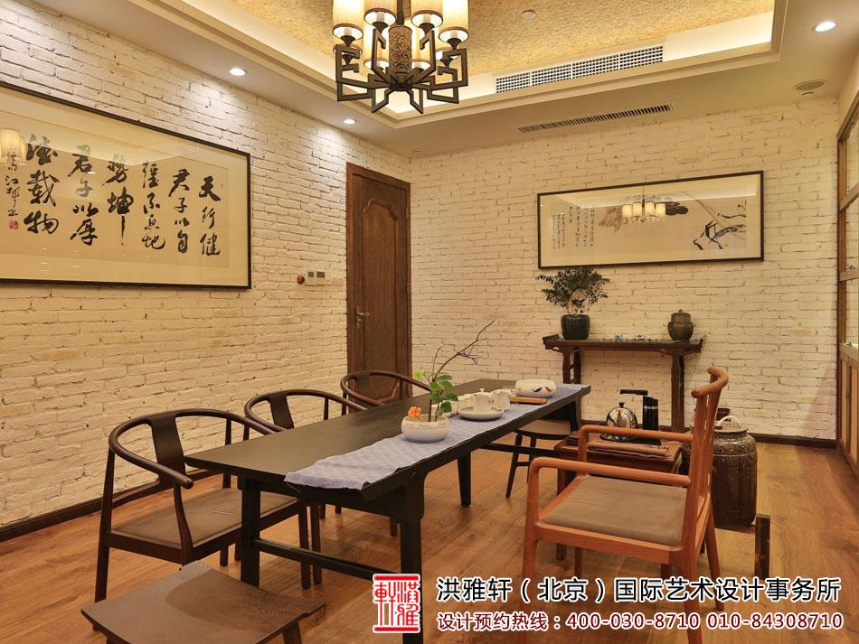 > 古色古香中式风格茶室装修效果图 意向东方