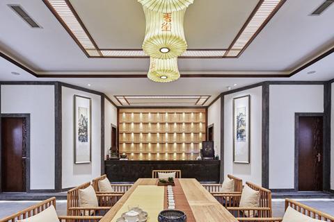 2017年精选私人茶会所中式风格装修效果图 优雅舒适