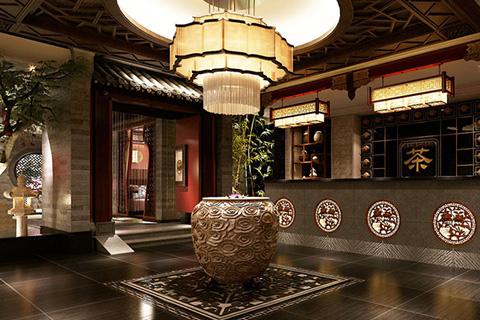 古朴纯香 2017古典中式茶楼风格设计实景图片欣赏