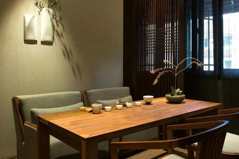 优雅浓厚的精典茶室现代中式风格实景图欣赏