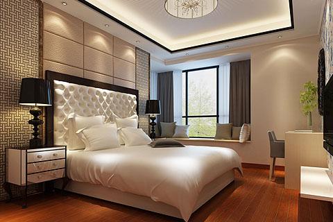 卧室中式装修图,卧室装修效果图,卧室装修图片合集(一)