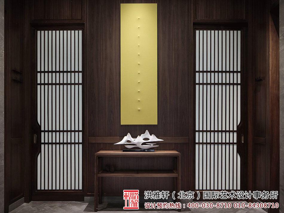 极简与禅意的完美结合 茶楼禅意风格装修效果图欣赏