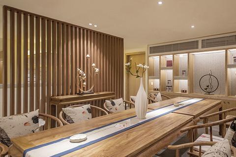 最美中式风格茶室装修设计 禅意茶室静品生活