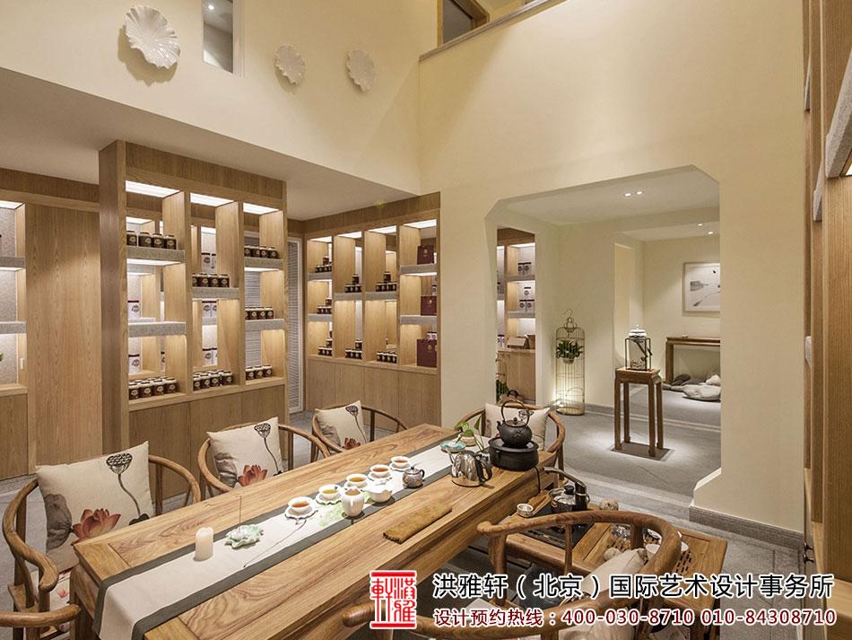 茶室中式装修效果图 > 最美中式风格茶室装修设计 禅意茶室静品生活