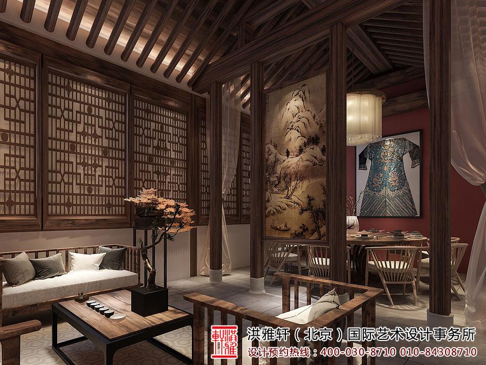 > 佛系民宿客栈装修效果图,人与自然和谐共存,禅境一体