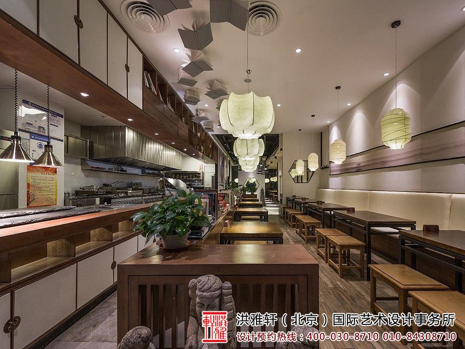 餐厅新中式装修图
