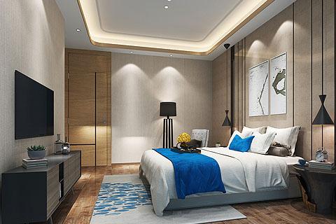 新中式别墅装修效果图,给中式别墅设计添加现代美感