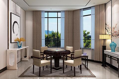 新中式别墅装修效果图,构筑中国风韵味中式居住空间