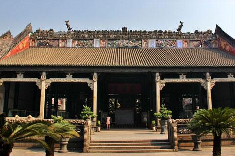 传统古建筑民间祠堂的款式与规模