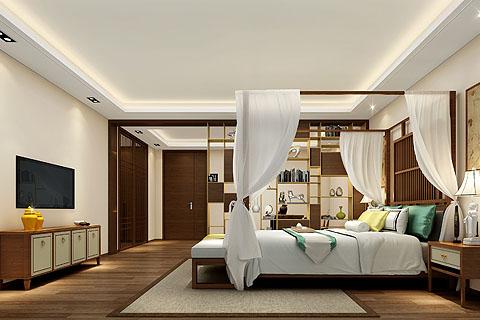 新中式别墅装修效果图,构筑中国梦,打造中式居所