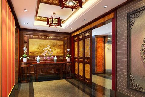 西安古典中式装修效果图 高雅脱俗而不奢侈