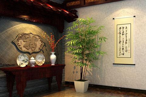 古典中式装修风格住宅设计,沉稳大气具温馨舒雅之意