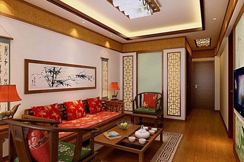 西安家装中式设计,氛围浓郁浪漫清新